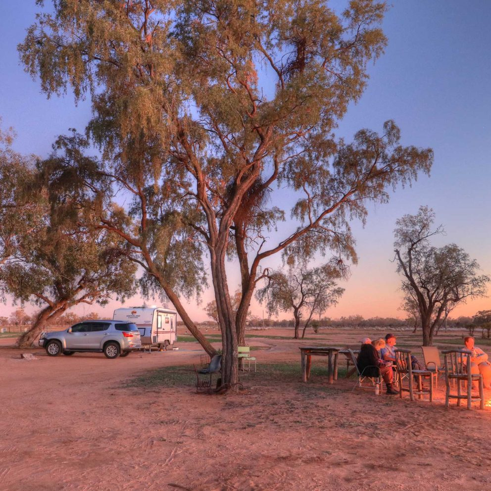 Camping at Shearers Quarters